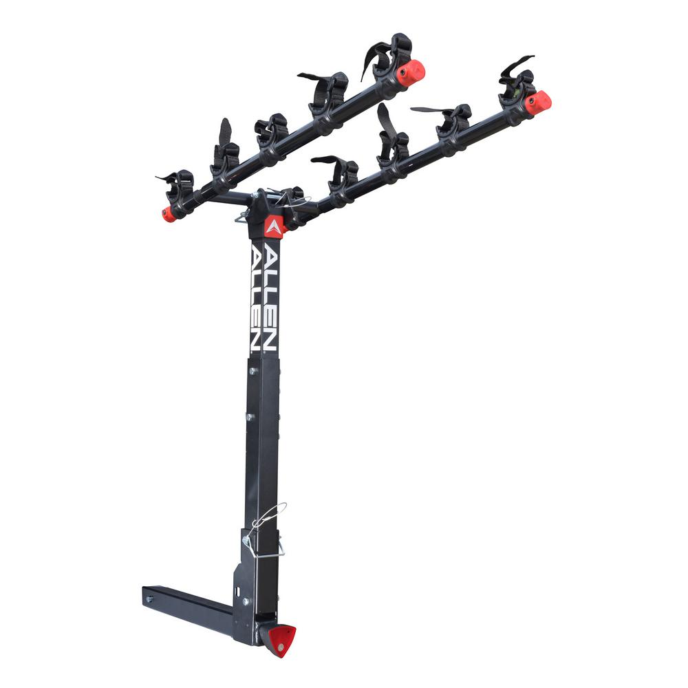 175 lbs. Capacity Locking 5-Bike Vehicle 2 in. Hitch Bike Rack