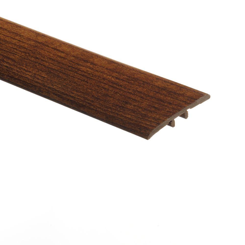 Zamma Hickory 5/16 in. Thick x 1-3/4 in. Wide x 72 in. Length Vinyl T-Molding