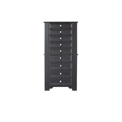 Oxford Black Jewelry Armoire
