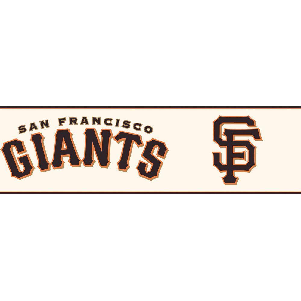 Boys Will Be Boys II San Francisco Giants Wallpaper Border