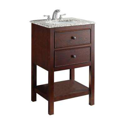 In Vanities With Tops Bathroom Vanities The Home Depot - Bathroom vanity 20 inches wide