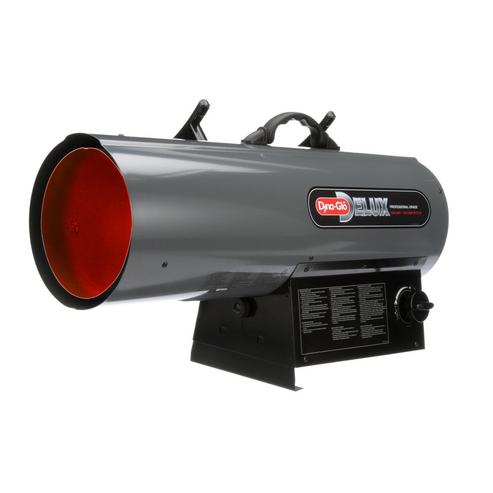 Forced Air Propane Heater >> Dyna Glo Delux 120k 150k Btu Forced Air Propane Portable Heater Rmc