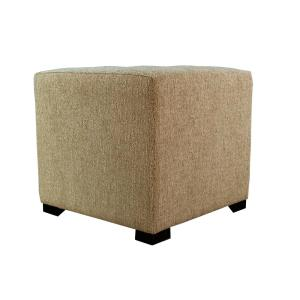 Fine Homepop Button Tufted Round Storage Ottoman Brown And Teal Ocoug Best Dining Table And Chair Ideas Images Ocougorg