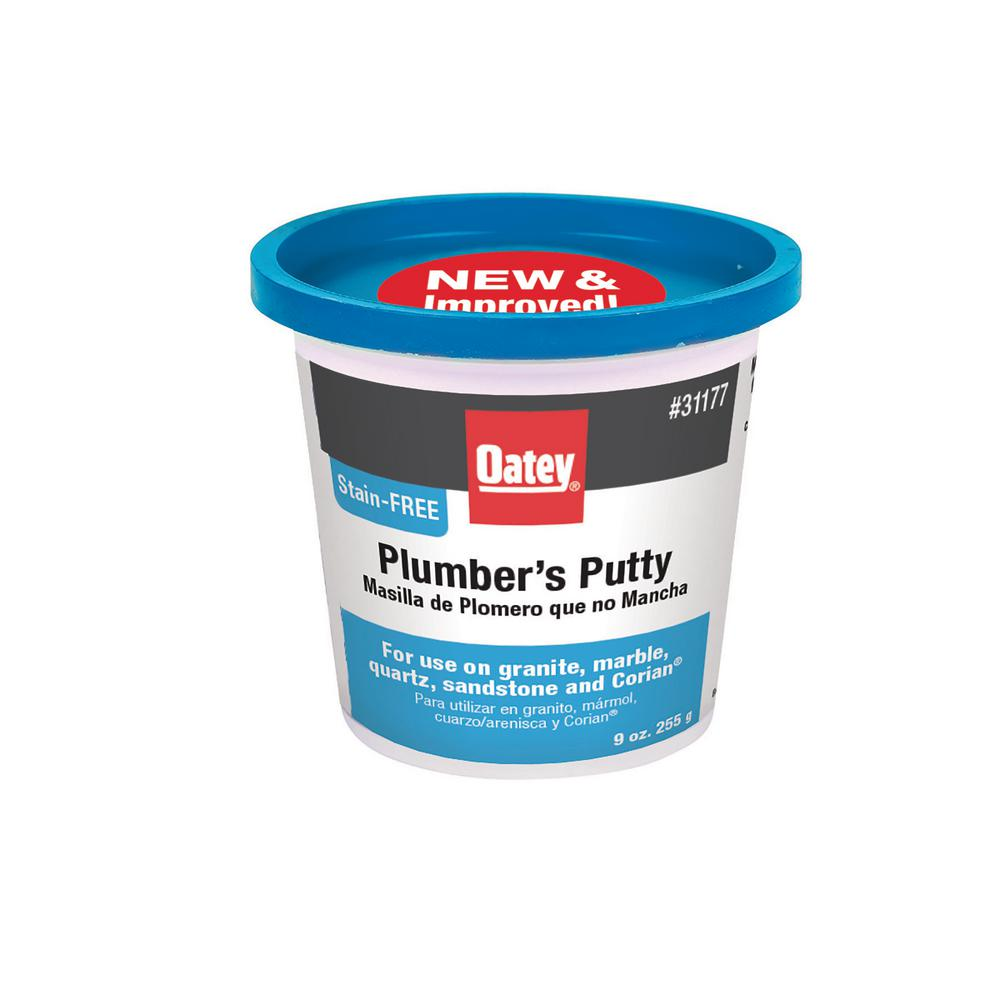 Oatey 9 oz. Stain-Free Plumber's Putty