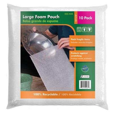 16 in. x 18 in. Large Foam Pouches (10-Pack)