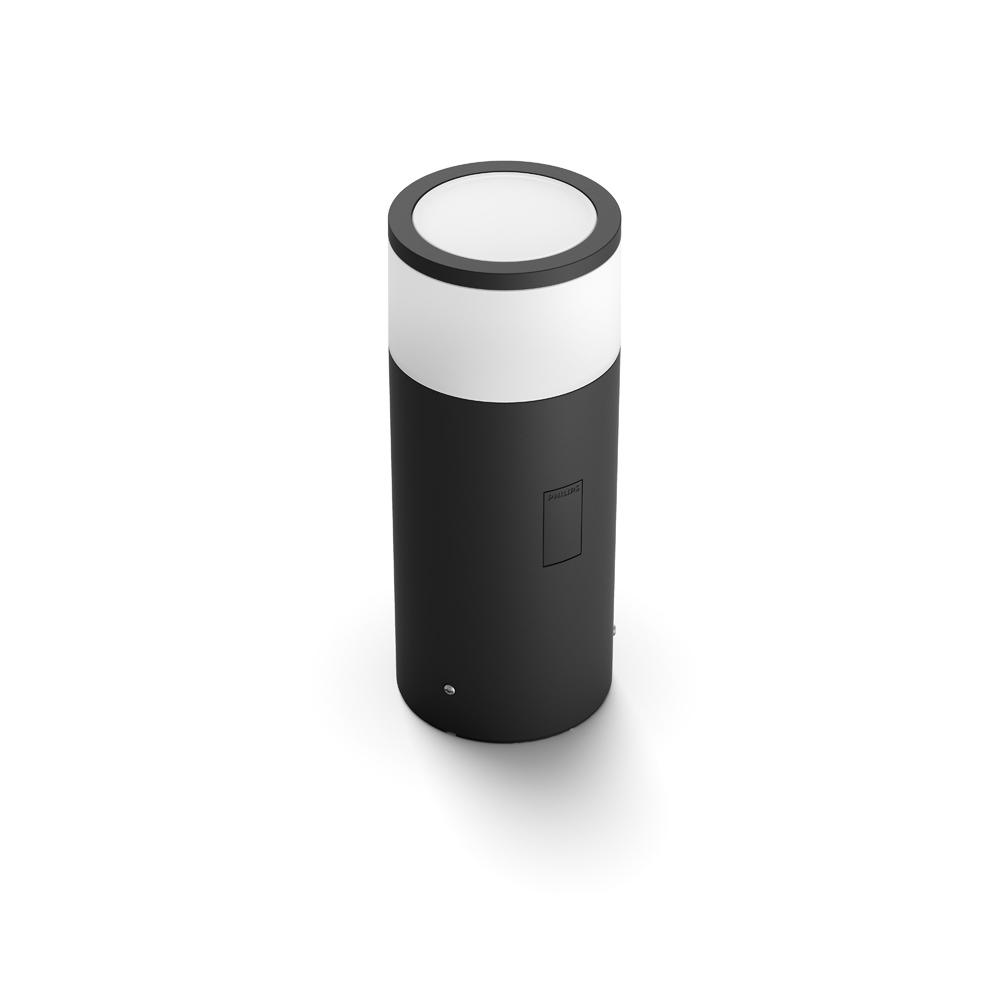 Philips Hue White And Color Ambiance Outdoor Led Calla Black Landscape Smart Path Bollard Light Extension