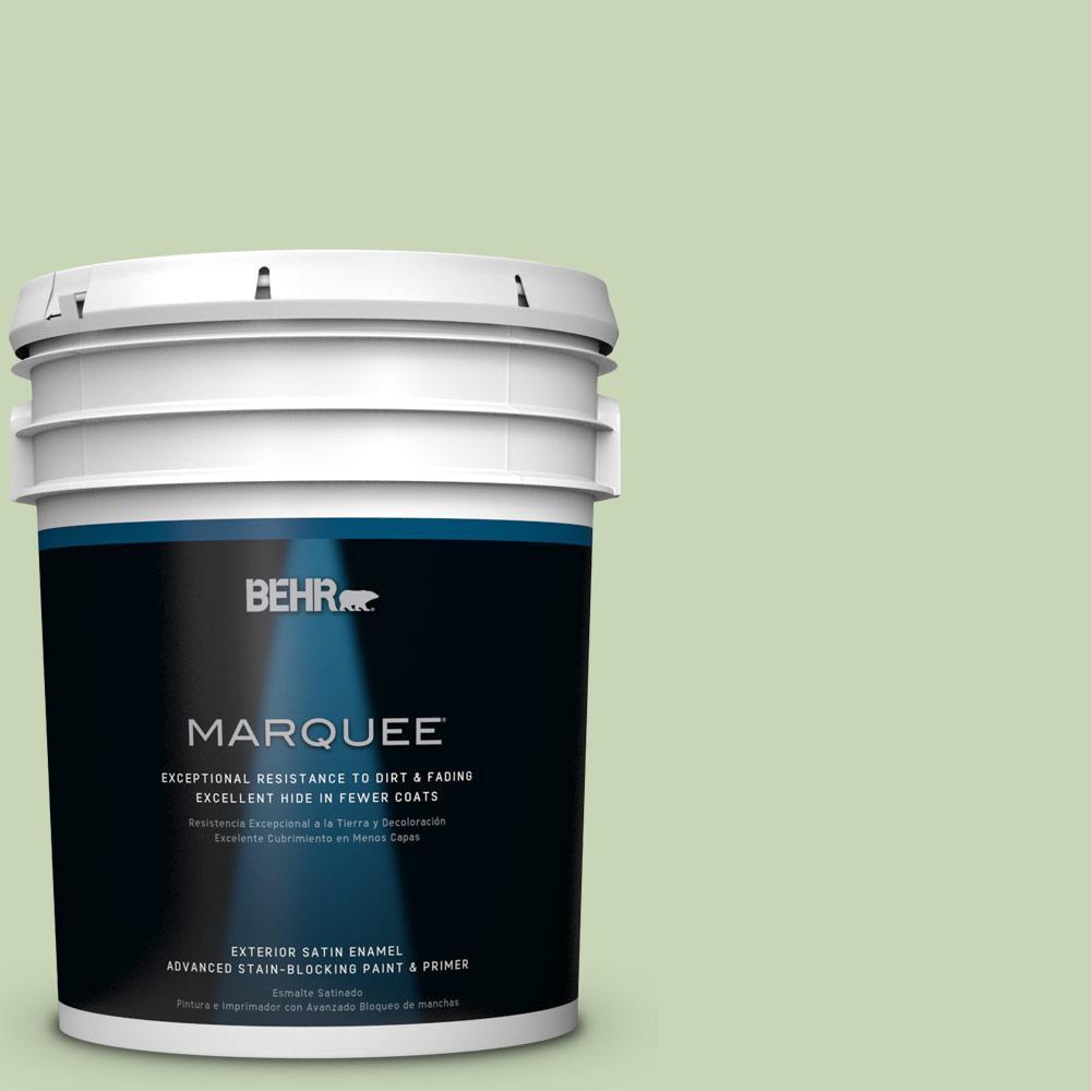 BEHR MARQUEE 5-gal. #M370-3 Spice Garden Satin Enamel Exterior Paint