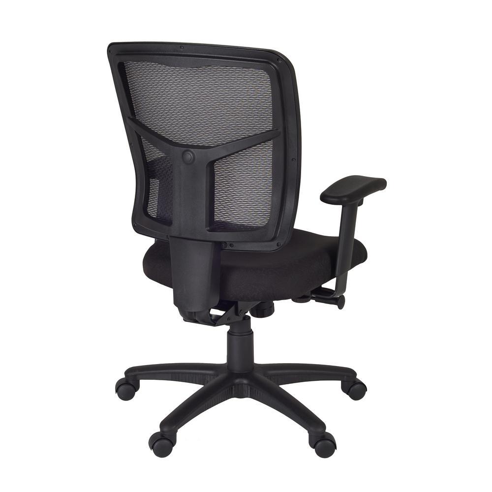 Internet #302736021. Regency Kiera Black Swivel Chair