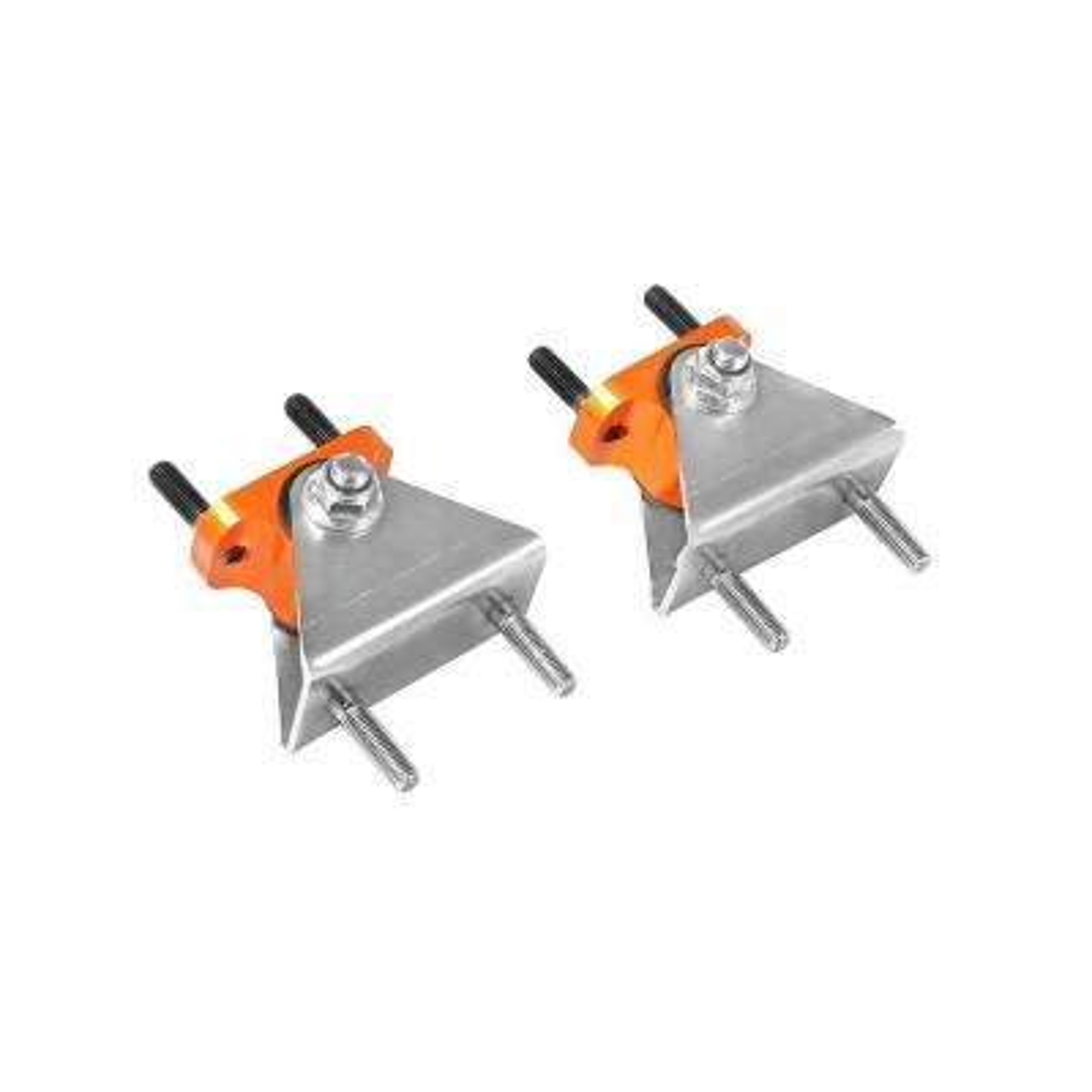 Control PFADT Series Transmission Mount Set; Chevrolet Corvette (C6) 05-13 Orange