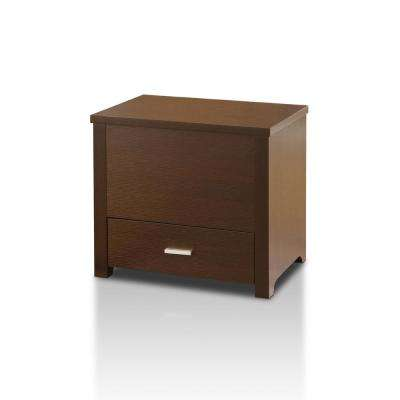 Adalyn Cappuccino Slide Top End Table