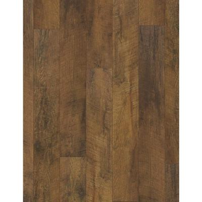 Barberton Oak 12 mm Thick x 6-1/5 in. Wide x 50-5/8 in. Length Water Resistant Laminate Flooring (17.50 sq. ft./case)