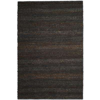 Natural Fiber Charcoal 8 ft. x 10 ft. Indoor Area Rug