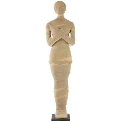 5 ft. Standing Wrapped Mummy Halloween Prop