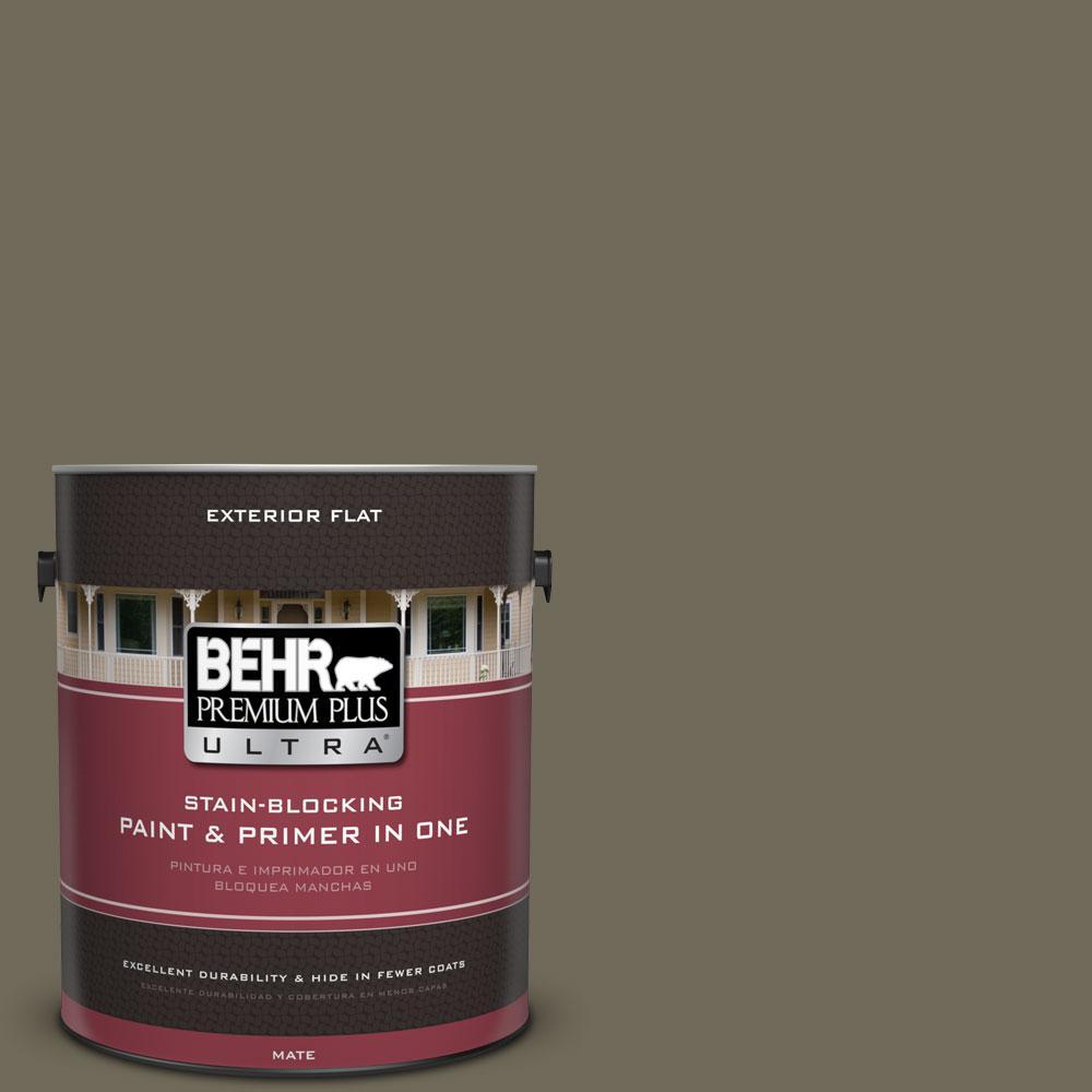 Behr Exterior Paint Home Depot behr premium plus ultra 1gal. 770d6 sandwashed driftwood flat