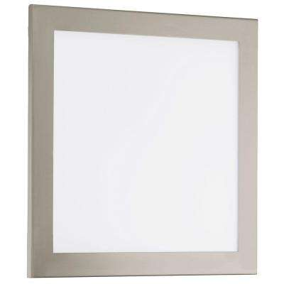 Auriga Matte Nickel Integrated LED Ceiling Light