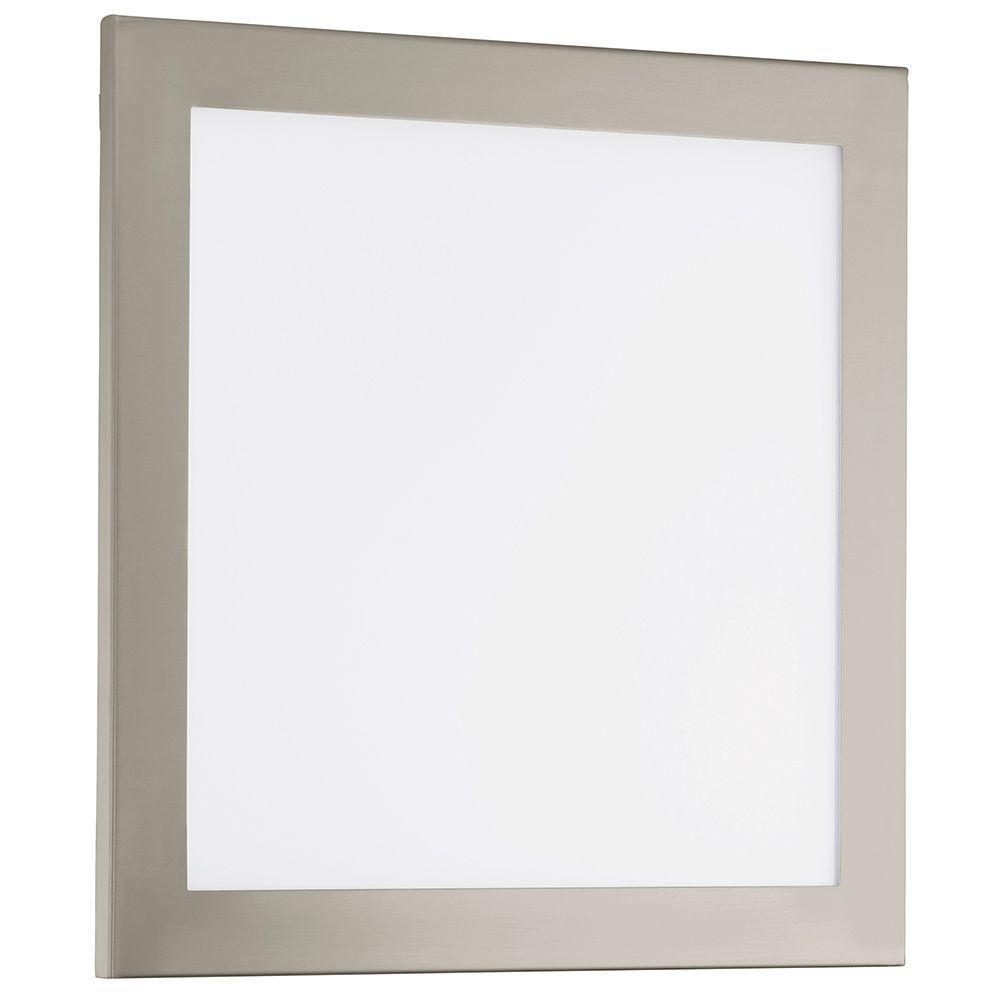 Auriga Matte Nickel Integrated LED Ceiling Light