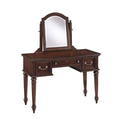 Colonial Classic 46.25 in. Vanity with Mirror in Cherry