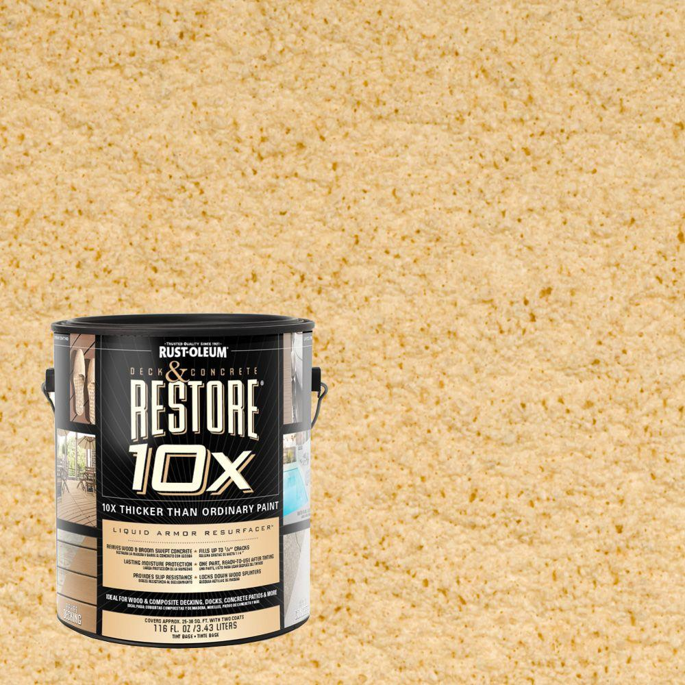 Rust-Oleum Restore 1-gal. Hacienda Deck and Concrete 10X Resurfacer