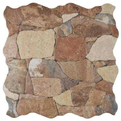 Attica Caldera 17-3/4 in. x 17-3/4 in. Ceramic Floor and Wall Tile (13.86 sq. ft. / case)