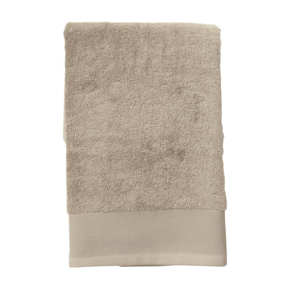 The Company Store Organic Cotton Single Bath Towel in Pumice