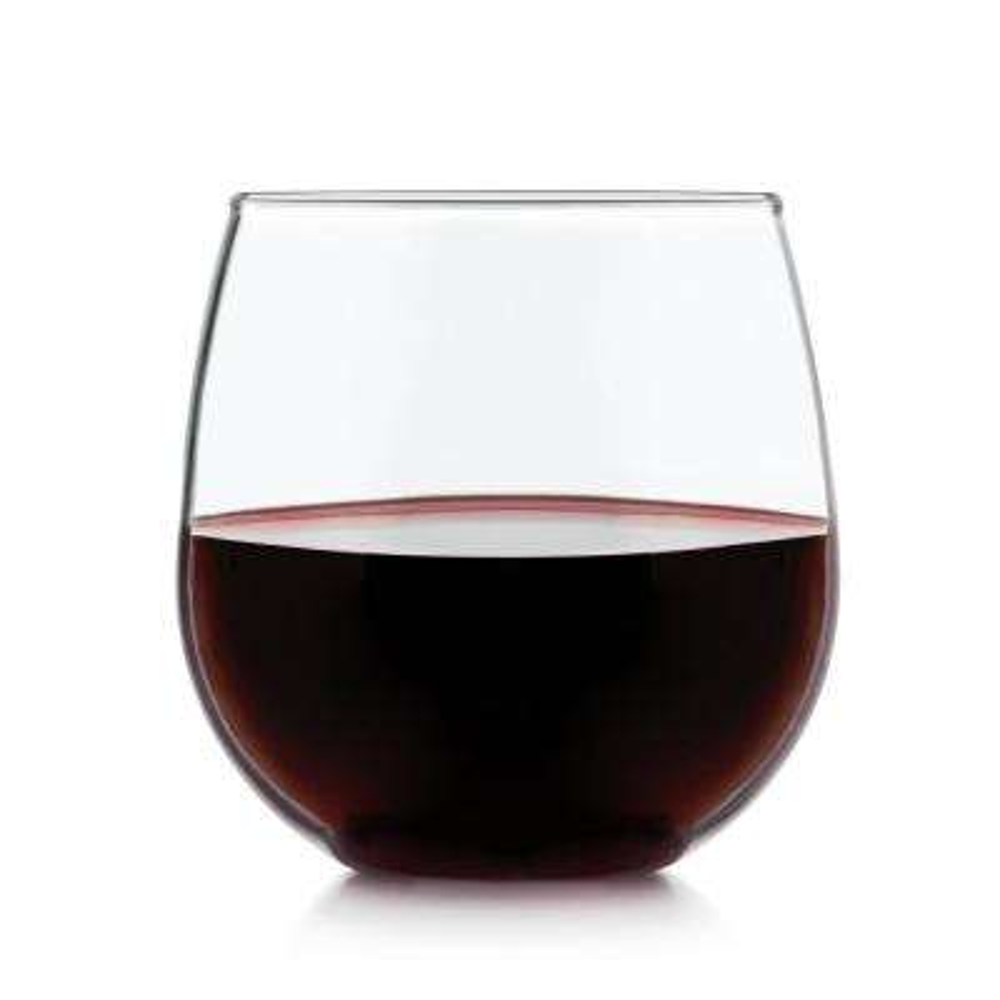 Stemless 8-piece Red Wine Glass Set