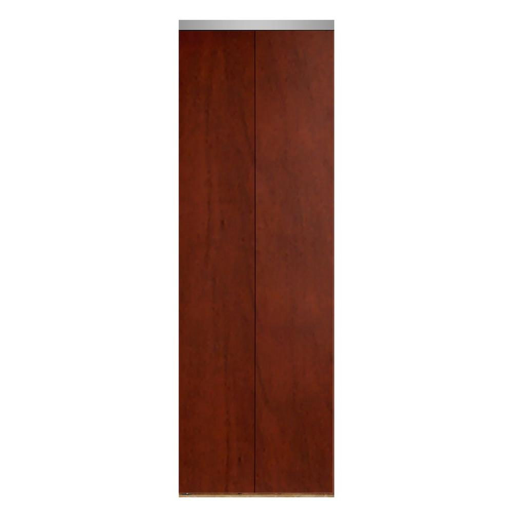 36 in. x 80 in. Smooth Flush Cherry Solid Core MDF