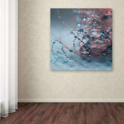 "14 in. x 14 in. ""Silence of Blues"" by Beata Czyzowska Young Printed Canvas Wall Art"