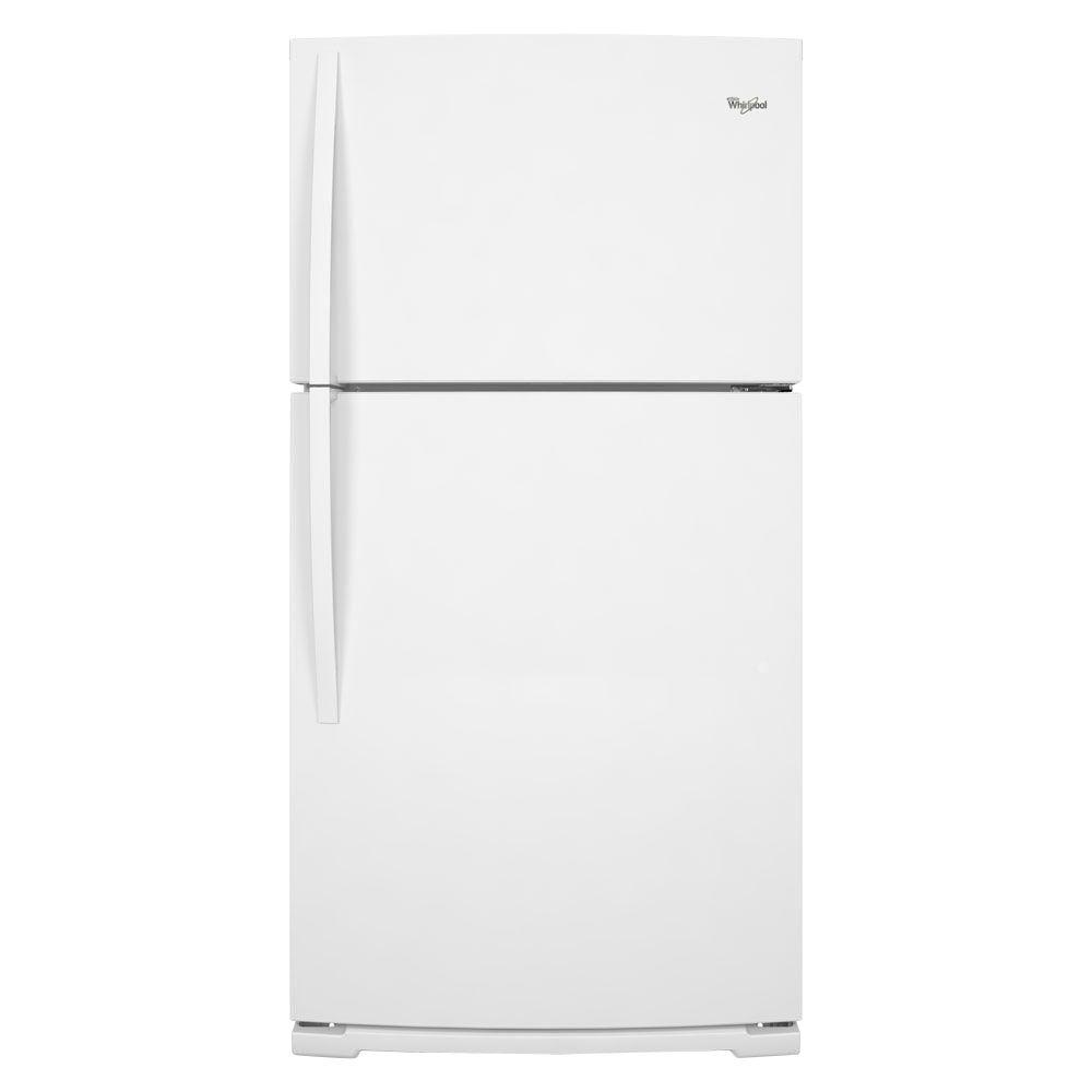 Whirlpool 21.1 cu. ft. Top Freezer Refrigerator in White-DISCONTINUED
