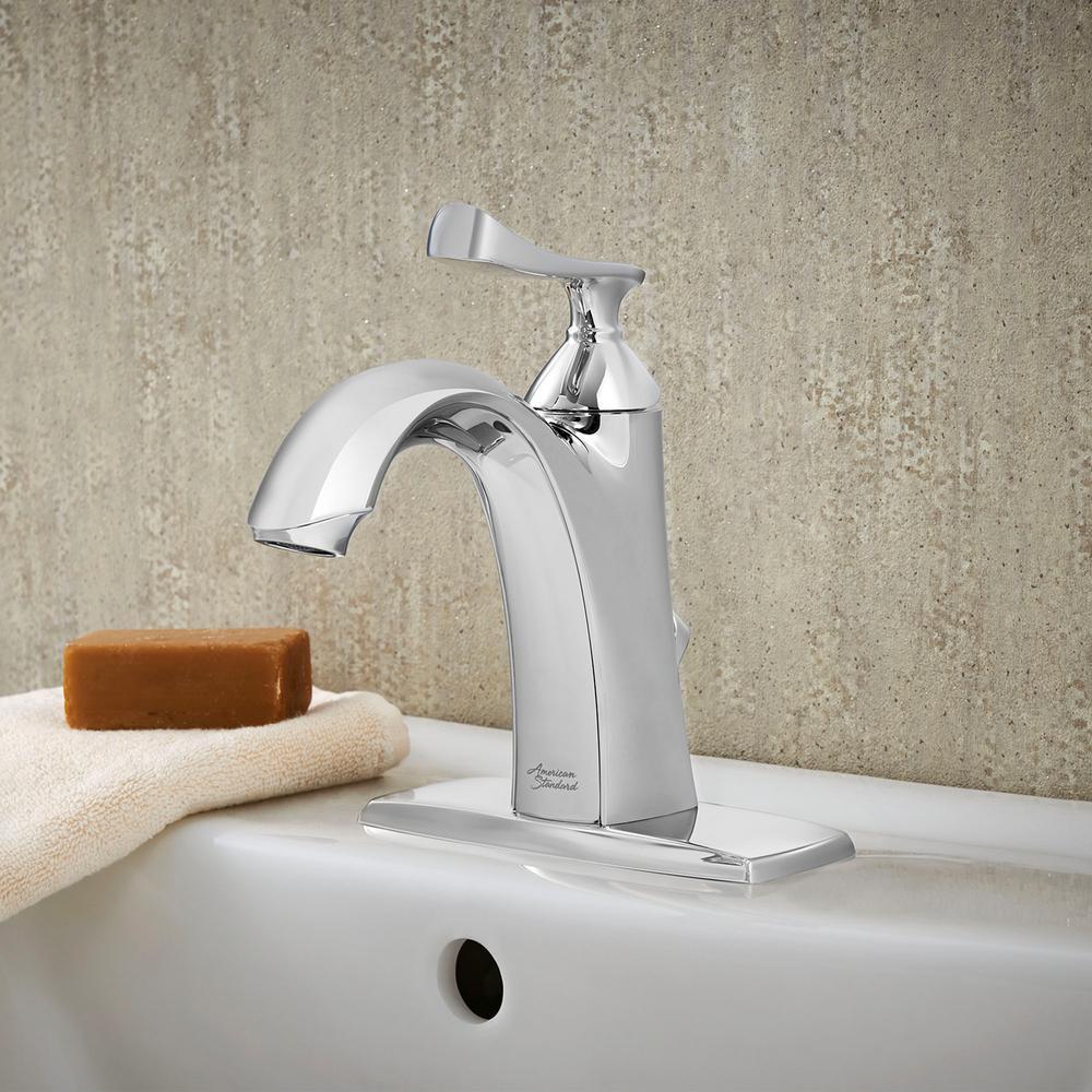 Chatfield Single Hole Single-Handle Bathroom Faucet in Polished Chrome