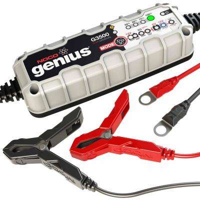 3.5 Amp UltraSafe Battery Charger and Maintainer