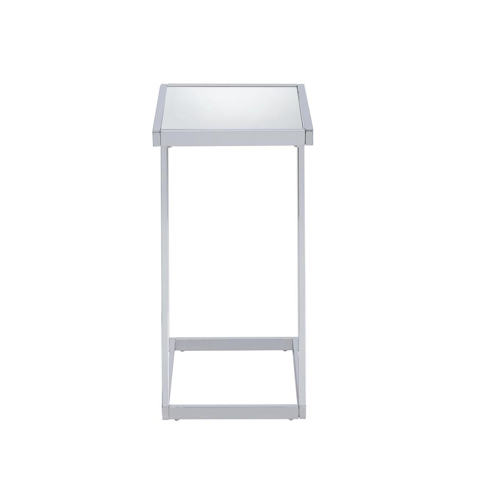 Acme Furniture Laina Mirror And Chrome Side Table