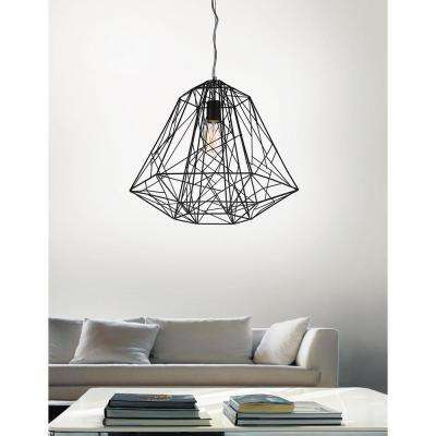Bagheera 1-Light Black Chandelier