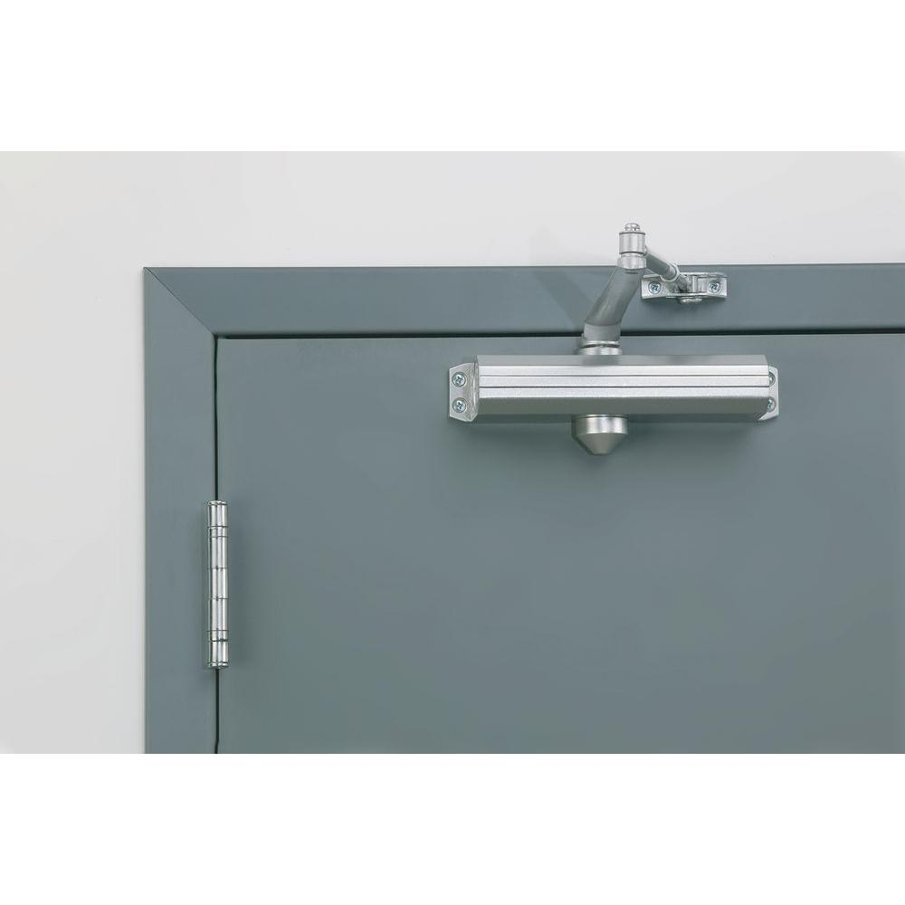 UNIVERSAL HARDWARE COMMERCIAL DOOR CLOSER UH4031 ALUMINUM