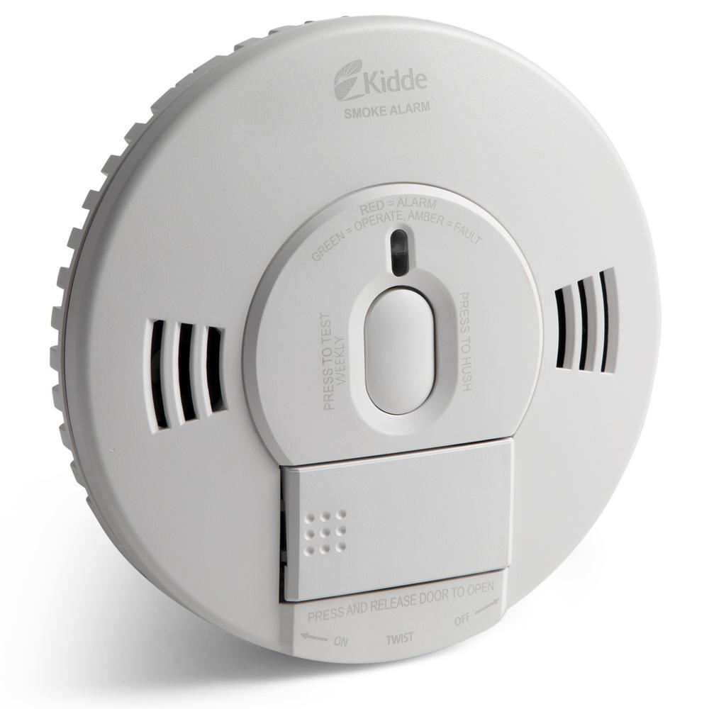 Hardwired 120-Volt TruSense Smoke Detector with Voice Alert