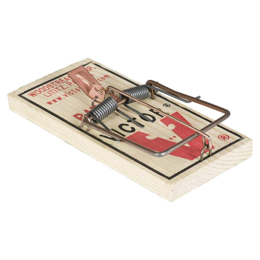 Victor Metal Pedal Rat Trap M210 The Home Depot