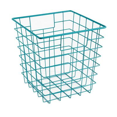11 in. H x 11 in. W Blue Wire Drawer