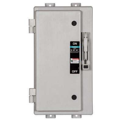 Heavy Duty 100 Amp 600-Volt 3-Pole Type 4X Non-Metallic Non-Fusible Safety Switch