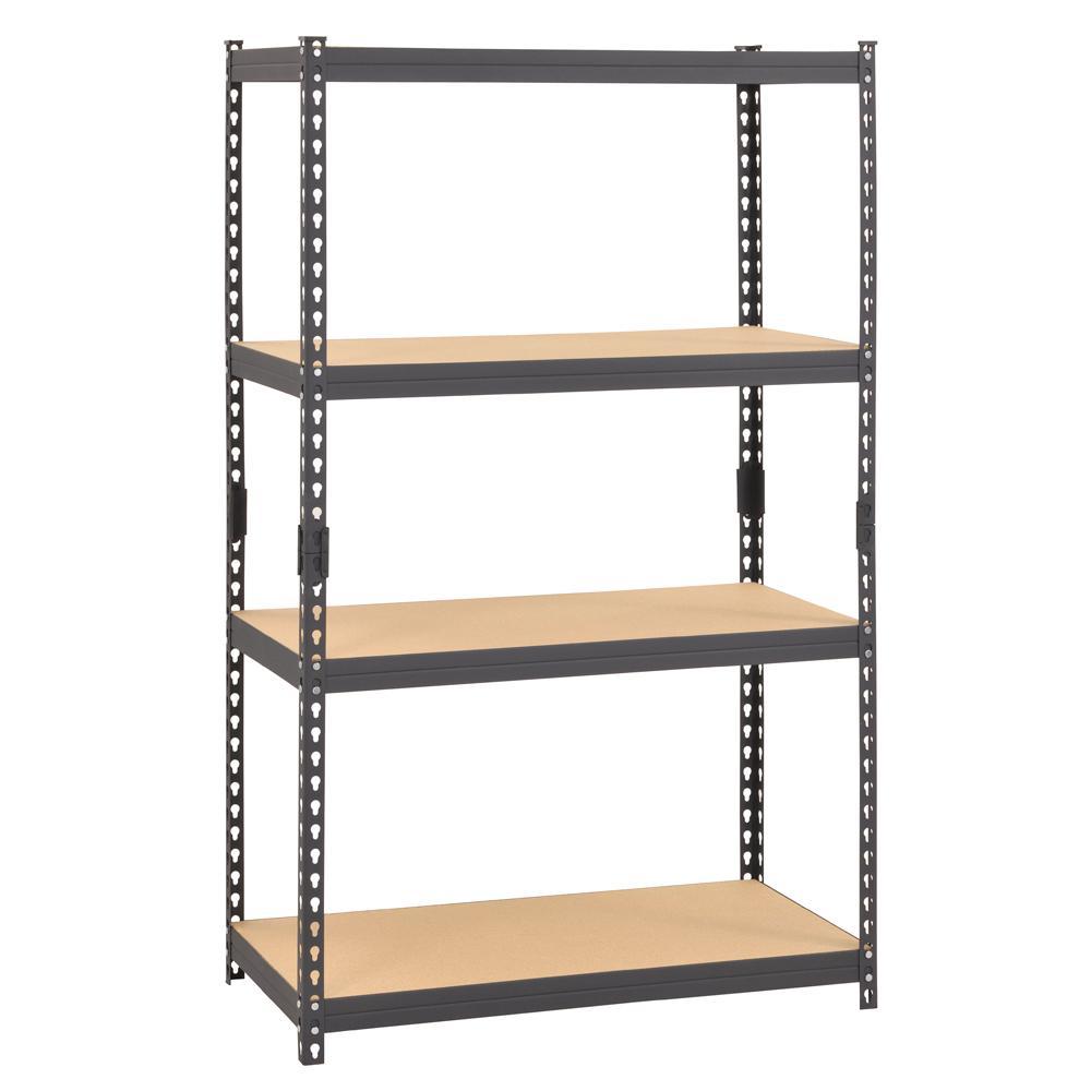 Muscle Rack 60 inch H x 36 inch W x 18 inch D 4-Shelf Steel Boltless Rivet... by Muscle Rack