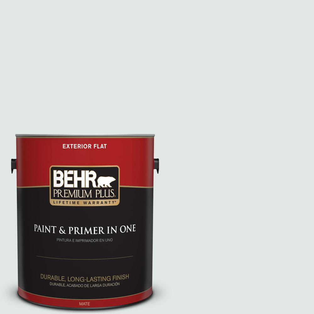 1 gal. #PPU13-17 Fresh Day Flat Exterior Paint