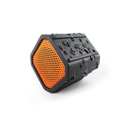 ECOPEBBLE Bluetooth Waterproof Speaker, Orange