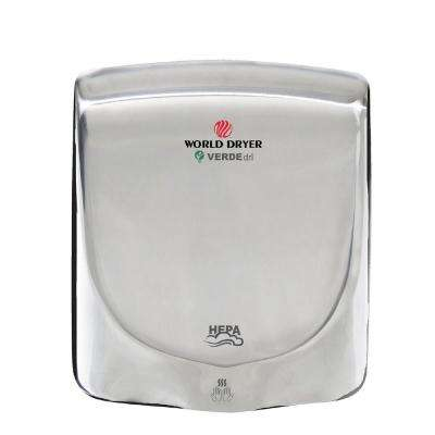 Polished Stainless Steel Electric Hand Dryer
