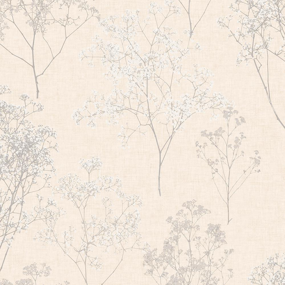 Queen Anne's Lace Vinyl Peelable Roll (Covers 55 sq. ft.)