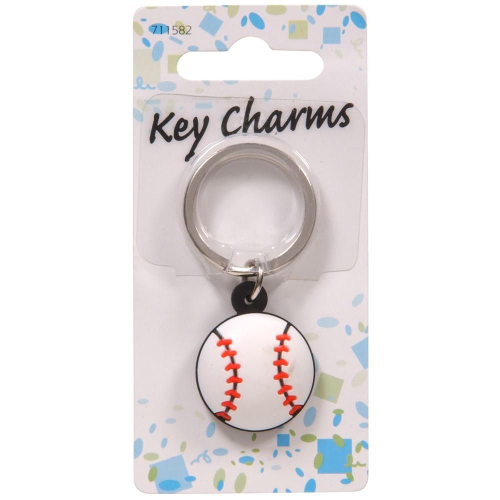 Baseball Key Chain (3-Pack)