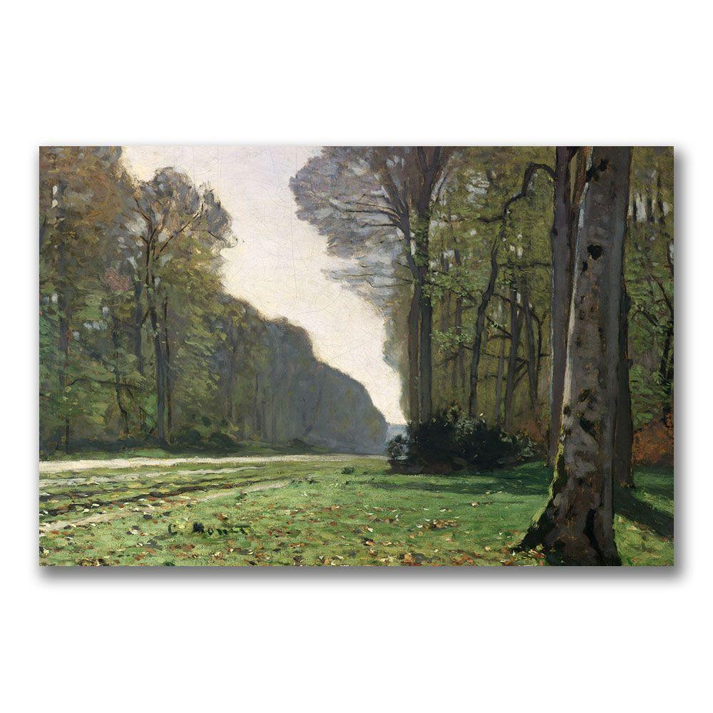 18 in. x 24 in. The Road to Bas Breau Canvas
