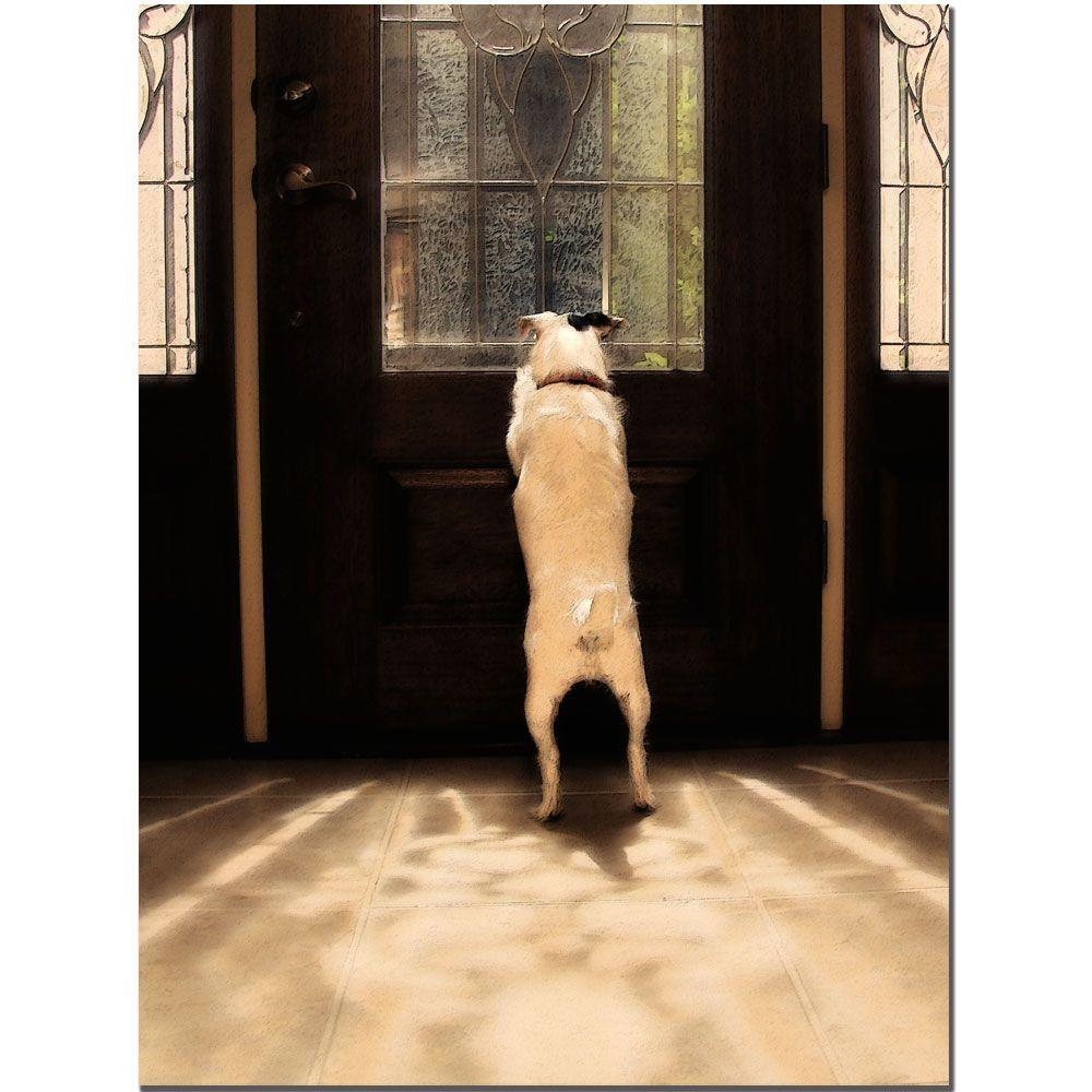 18 in. x 24 in. Anticipation 2 Canvas Art