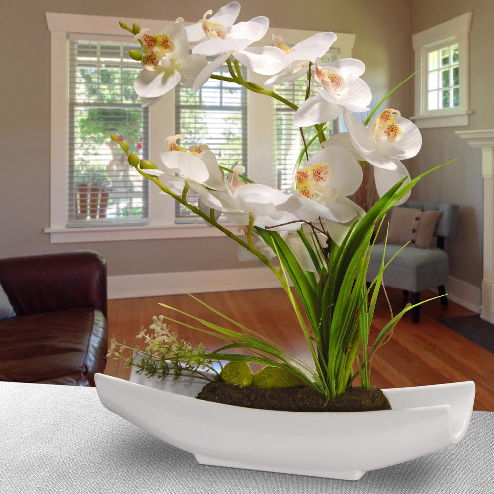 National Tree Company Orchid Flowers Decoration