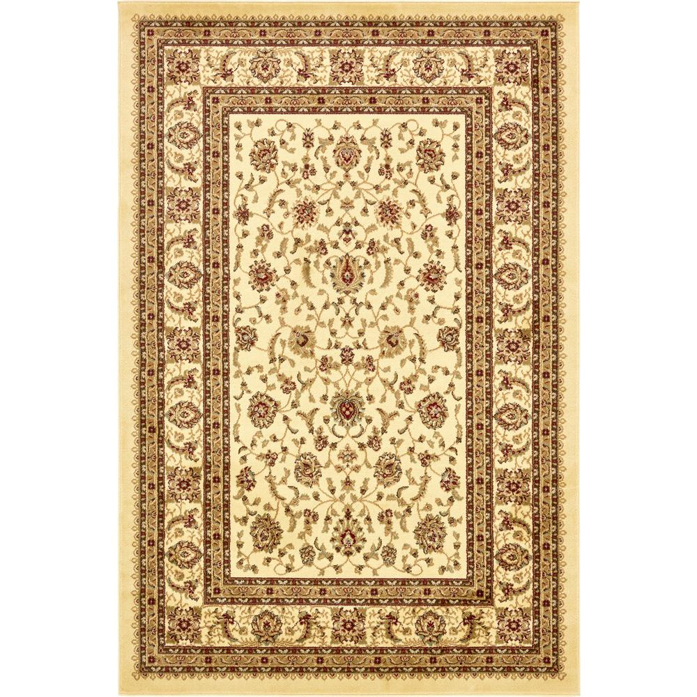Voyage St. Louis Ivory 6' 0 x 9' 0 Area Rug