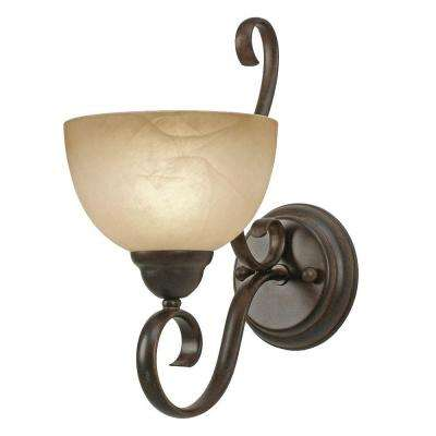 Riverton Collection 1-Light Peppercorn Sconce