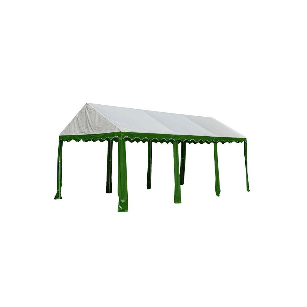 10 ft. x 20 ft. Green/White Party Tent