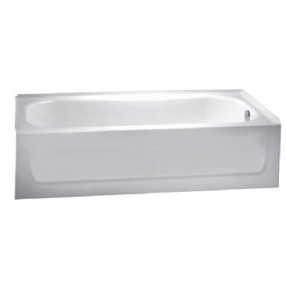 American Standard New Salem 5 ft. Right Drain Soaking Tub in White-DISCONTINUED